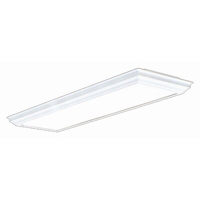 Indoor Fluorescent 4 Light Ceiling Lamp