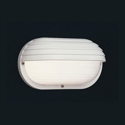 Thomas Lighting ADA Fluorescent Marine Style Wall Sconce in White