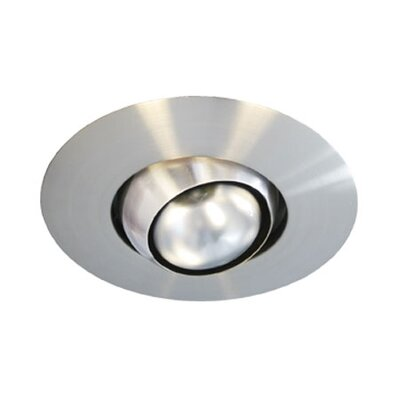 Eyeball Recessed Trim in Brushed Nickel