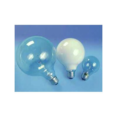 Sylvania Decor G25 25 Watt 120 V Incandescent Bulb in Soft White