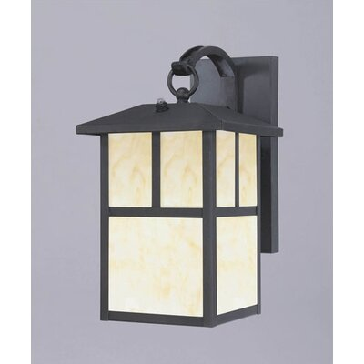 Westinghouse Lighting Nova Scotia  Outdoor Wall Lantern in Textured Black- Energy Star