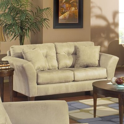 Jackson Furniture Riviera Tufted Loveseat