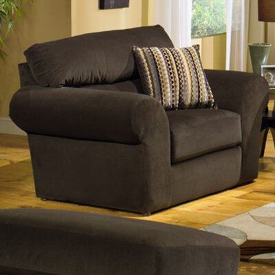 Jackson Furniture Mesa Velvet Chair and Ottoman