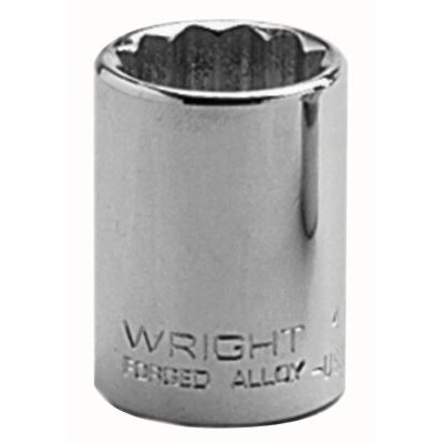 "Wright Tool 1/2"" Dr. Standard Sockets - 7/16"" 1/2""dr 12pt std socket"