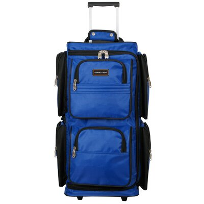 Geoffrey Beene Varsity 3 Piece Wheeled Travel Duffle Set