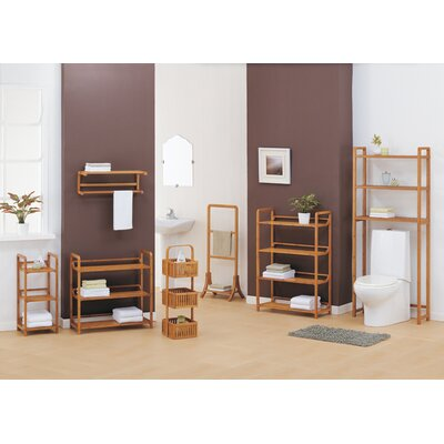 OIA Lohas Three Tier Storage Tower in Caramel