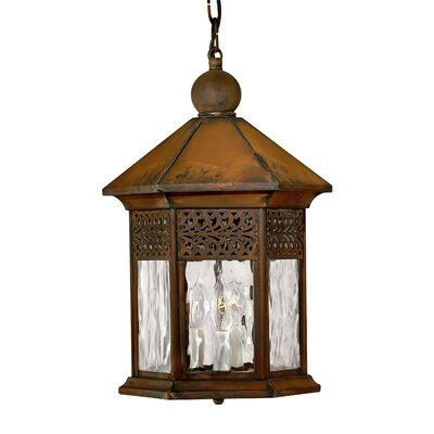 Hinkley Lighting Westwinds Outdoor Hanging Lantern in Sienna