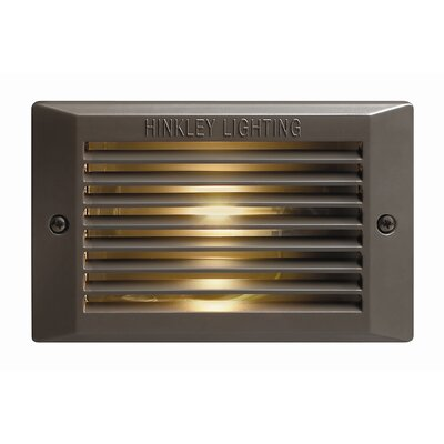 Hinkley Lighting Outdoor Compact Flourescent Deck/Step Light in Bronze