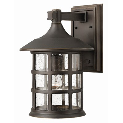 Hinkley Lighting Freeport Wall Lantern in Oil Rubbed Bronze
