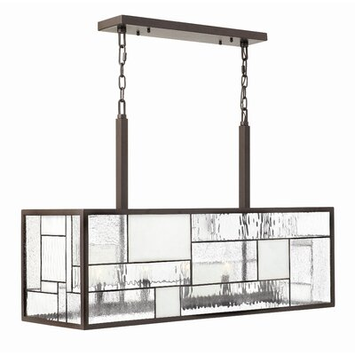 Mondrian 5 Light Kitchen Island Pendant
