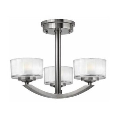 Hinkley Lighting Meridian 3 Light Chandelier