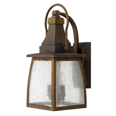 Hinkley Lighting Montauk 2 Light Small Outdoor Wall Lantern