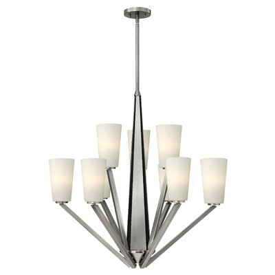 Hinkley Lighting Victory 9 Light Chandelier