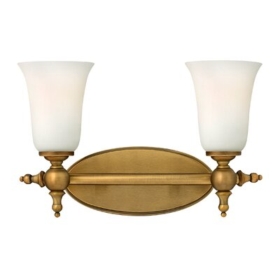 Hinkley Lighting Yorktown Two Light Bath Vanity