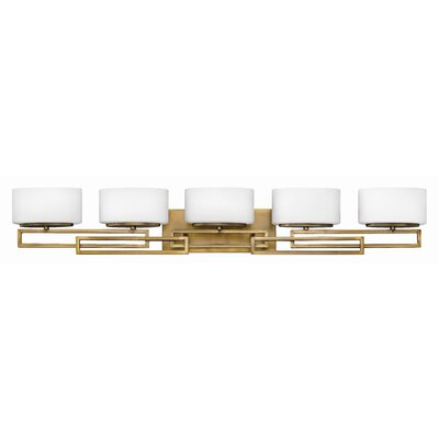 Hinkley Lighting Lanza Five Light Bath Vanity