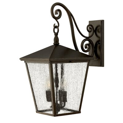 Hinkley Lighting Trellis 3 Light Large Outdoor Wall Lantern