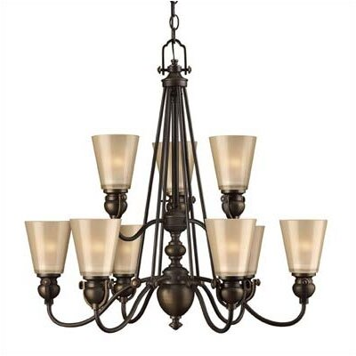 Hinkley Lighting Mayflower 9 Light Chandelier