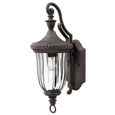 Hinkley Lighting Oxford 1 Light Small Outdoor Wall Lantern