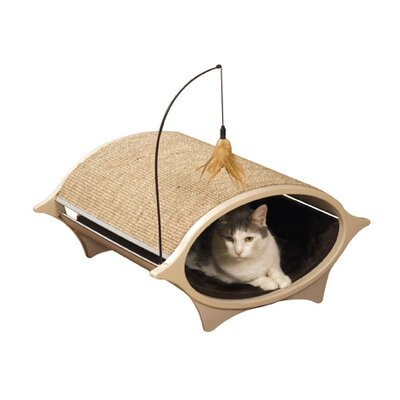Precision Pet Products Cat Eye Modular Cat Bed and Corrugate Scratcher