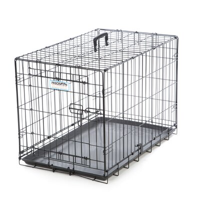 ProValu Single-Door Dog Crate in Black