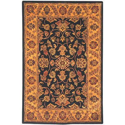 Safavieh Golden Jaipur Black/Gold Rug