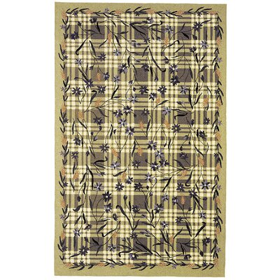 Safavieh Chelsea Ivy Green Plaid Rug