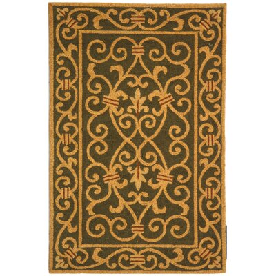 Chelsea Green Iron Gate Rug
