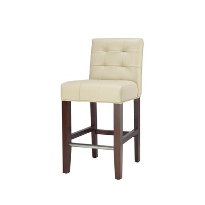 Safavieh Thompson Leather Counter Stool