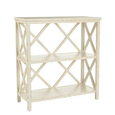 Safavieh Cooper Bookshelf in Distressed Ivory