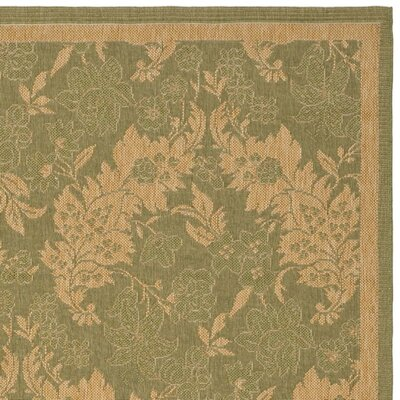 Safavieh Courtyard Green Rug