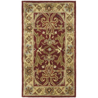 Safavieh Heritage Red/Gold Rug