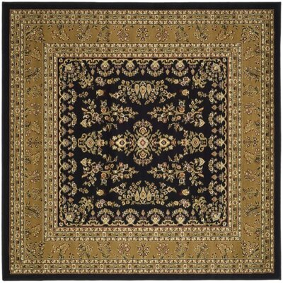 Safavieh Lyndhurst Black/Tan Rug