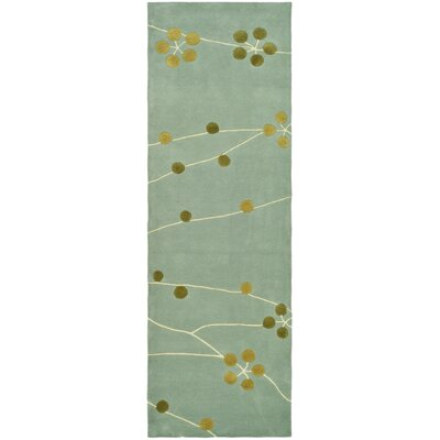 Soho Light Blue/Gold Rug