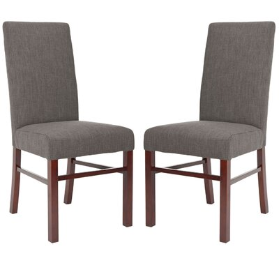 Safavieh Classical Cotton Parson Chair (Set of 2)
