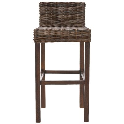 Safavieh Carissa Bar Stool in Cappuccino
