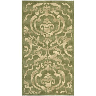 Safavieh Courtyard Olive/Natural Rug