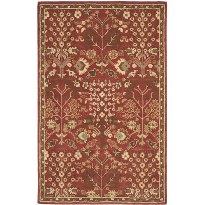 Heritage Red/Green Rug