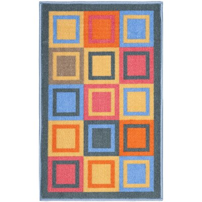 Safavieh Metropolis Blue / Multi Rug (Set of 3)