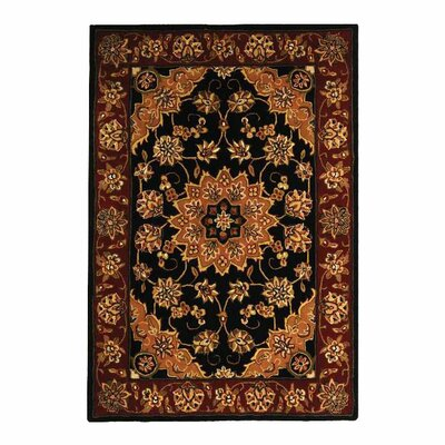 Safavieh Traditions Black/Burgundy Rug