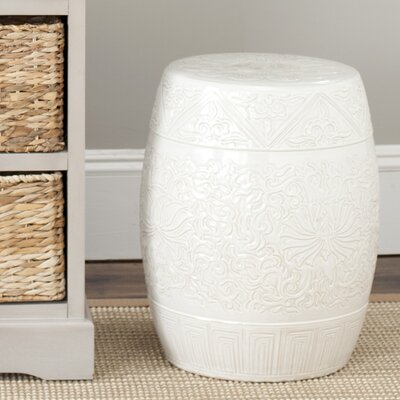 Safavieh Everest Gardens Embossed Ceramic Garden Stool