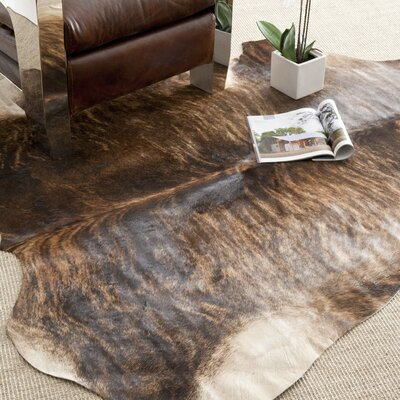 Cow Hide Black/Brown Rug
