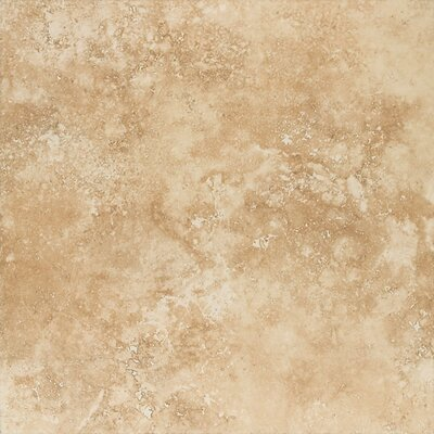 "Mohawk Flooring Mirador 20"" x 20"" Floor Tile in Golden Amber"