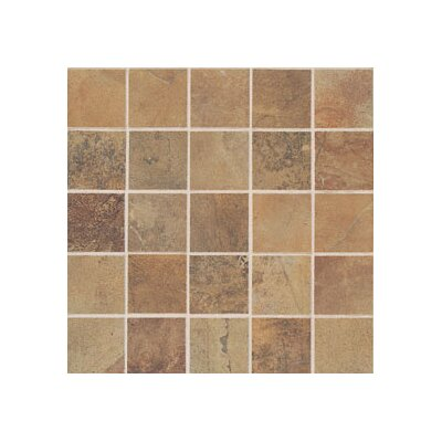 "Mohawk Flooring Montara 2"" x 2"" Decorative Mosaic in Gold Coast"