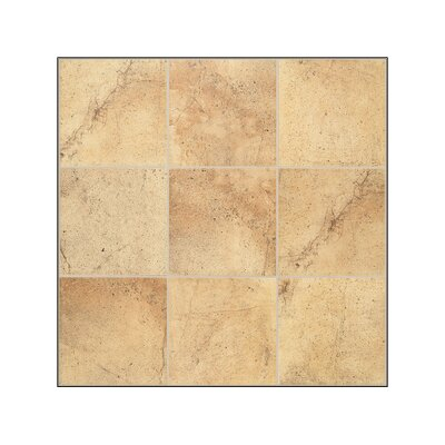"Mohawk Flooring Sardara 12"" x 12"" Floor Tile in Piazza Gold"