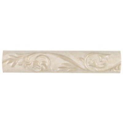 "Mohawk Flooring Pavin Stone 2"" x 10"" Decorative Accent Strip in White Linen"