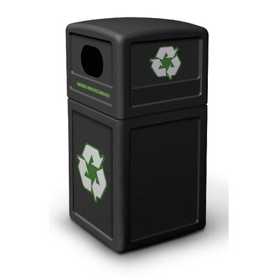 Commercial Zone 38 Gallon Recycle38 Recycling Container
