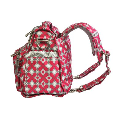 Ju Ju Be BFF Diaper Bag in Pink Pinwheels