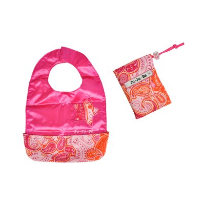 Ju Ju Be Be Neat Reversible Baby Bib in Perfect Paisley
