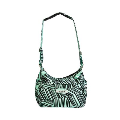 Ju Ju Be Hobo Be Messenger Diaper Bag in Mint Chip