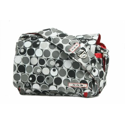 Ju Ju Be Be All Messenger Diaper Bag in Midnight Eclipse
